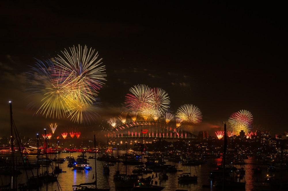 Sydney NYE fireworks
