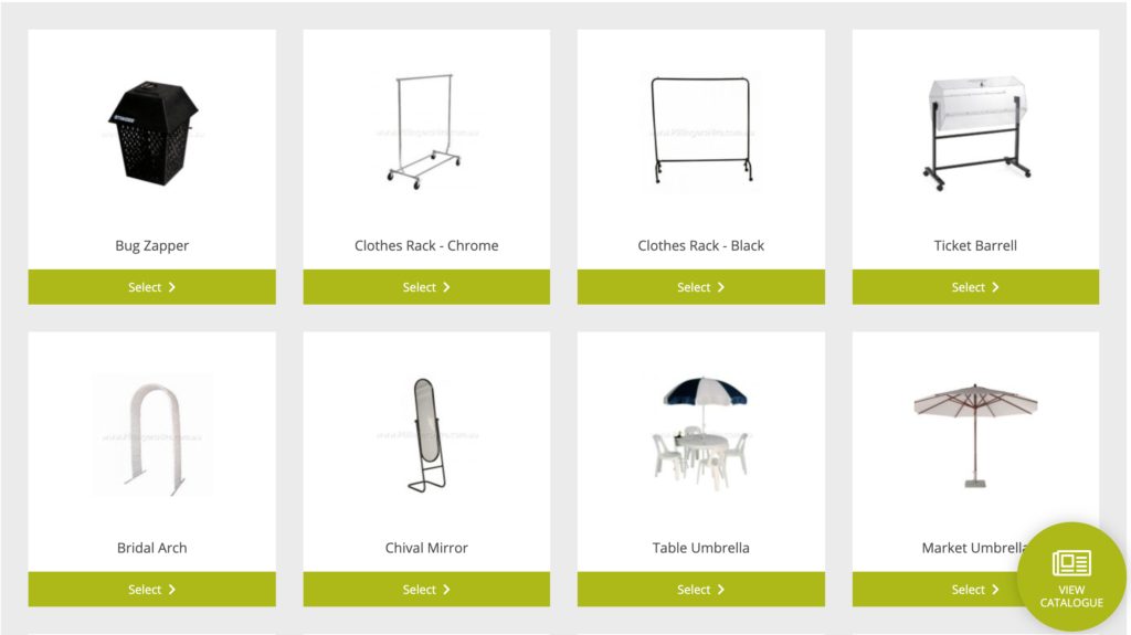 Products From Catalogue